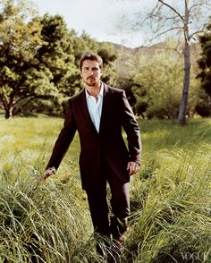 2014 Oscar Nominees in Vogue — Christian Bale, Best Actor in a Leading Role, American Hustle