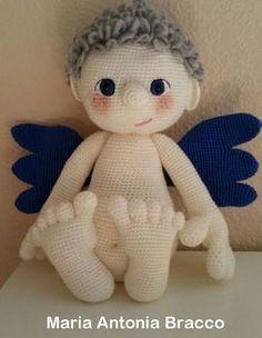 Amigurumi angelo nudo