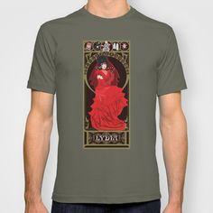 Lydia Nouveau - Beetlejuice T-shirt by CaptainLaserBeam - $18.00