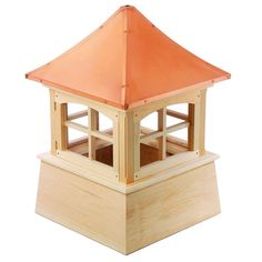 Windsor Wood Cupola with Copper Roof 18 in. x 27 in.