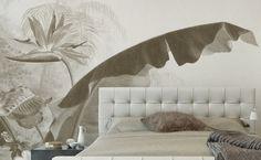 Tete de lit exotique