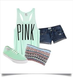 """Summer Vans 3"" by tjtdillon on Polyvore"