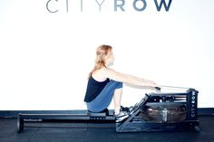 """Ahh yes, the joys of the """"seated deadlift"""" http://www.thecoveteur.com/rowing-workout-cityrow/"""