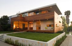 Then what kind of wooden home architecture design concept? All parts of the modern architecture of your house is made of wood. Design Exterior, Modern Exterior, House Design Photos, Modern House Design, Modern Architecture House, Architecture Design, Installation Architecture, Architecture Websites, Style At Home