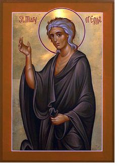 Humble Repentance or Paralyzing Guilt? Mary of Egypt for the Sunday of Lent in the Orthodox Church – Eastern Christian Insights Religious Images, Religious Icons, Religious Art, Byzantine Icons, Byzantine Art, St Mary Of Egypt, Orthodox Christianity, Art Icon, Catholic Saints