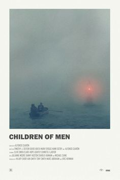 Children of Men alternative movie poster Visit my Store