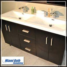 Bathroom Vanities Miami foto ilustrativa) | banheiros detalhes | pinterest