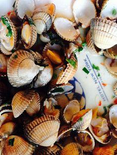 Cockels,  Hotel New York Rotterdam,  seafood
