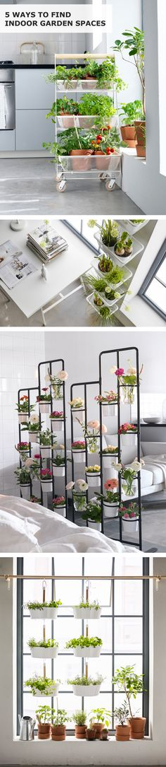 Got garden dreams in the urban jungle? Let's get them growing! When you're short on flowerbeds and veggie patches, get clever with the space you have! Click for five IKEA ideas to create an indoor garden. Interior design by Helene Holmstedt. Digital design by Cecilia Höglund. Copywriting by James Rynd. Photography by Monika Lundholm. Editing by Linda Harkell.