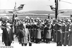 Bruno Kreisky bei einem Besuch in der DDR im März 1978