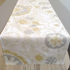 Table Runner  SpringSummerWedding  Premier by homehaberdasher (Home & Living, Kitchen & Dining, Linens, Table Linens, Table Runners, home dec, table runner, table decor, table square, table cloth)