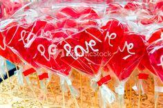 Love Lollipops Stock Image