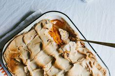 Sweet Potato Casserole with Brown Sugar Fluff recipe on Food52