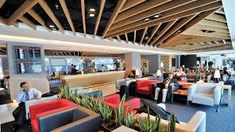 5 Airport Lounges Interior Design That Will Inspire You To Travel More    brabbu contract, airport lounges,contract furniture,decorating ideas,decorating tips,#brabbucontract #hospitalitydesign#loungeinteriordesigninspiration#interiordesigntips#moderninteriordesign   FULL ARTICLE: http://brabbucontract.com
