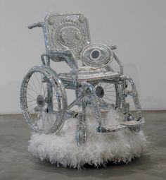 "Wheelchair I , 2003 , from the series ""Discoware,"