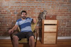 Adorable Photos Of Men And Cats Prove Few Things Are More Manly Than Cat Ownership