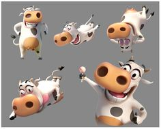Chupa Chups Milk Cow on Behance