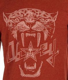 08a6aae922d5 OBEY Panther T-Shirt - Men s T-Shirts in Heather Brick