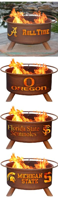 Perfect gift idea for the committed alumni | Collegiate Fire Pits