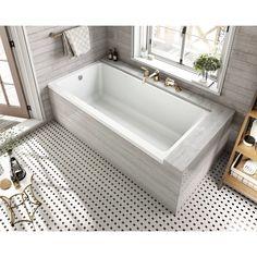 "Equinox 60"" x 30"" Drop in Soaking Bathtub"