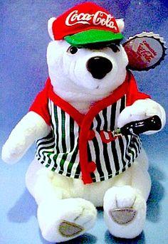 Coca-Cola Beanie Bear