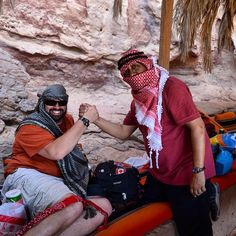 Peace and friendliness can win more smiles and happiness. #GrabYourDream #TravelAdventurer #Jordan #Arab