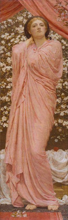 Albert Moore, Blossoms, 1881