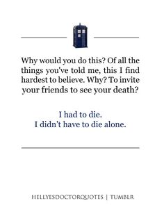 Hell Yes Doctor Who Quotes