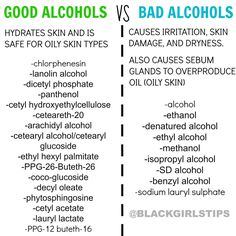 Check your cosmetics for bad alcohols