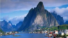 Fjords of Norway   Reine, Moskenes, Norway