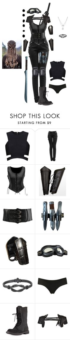 """Grounder"" by gone-girl ❤ liked on Polyvore featuring Cold Steel, Posh Girl, Forever 21, Topshop, Rick Owens, Logan Neitzel, Kenneth Cole and Shibuya"