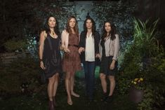 Julia Ormond, Mädchen Amick, Rachel Boston and Jenna Dewan Tatum in Witches of East End (2013)