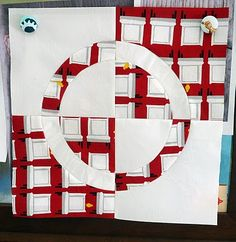 My Three Sons: Ringed Double Circle Block : tutorial