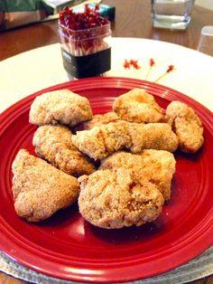fried gator nuggets - Roll Tide!