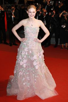 Cannes Film Festival 2016: Top 10 Women of the Red Carpet - Elle Fanning-Wmag
