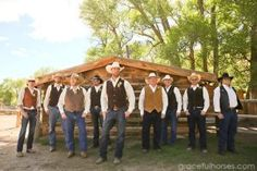 Groomsmen-at-the-Lazy-LB-Ranch