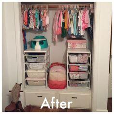 Leah Nursery — Organizing by Allison Baby Planning, Nursery Organization, Baby Room, Parenting, How To Plan, Organizing, Baby Things, Nursery Ideas, Closets