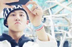 Kim Hanbin is a gigantic dork. <3