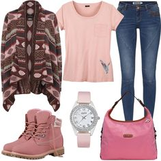 Pink October by FrauenOutfits