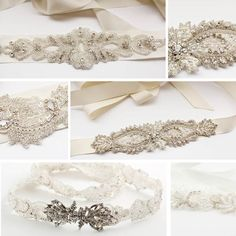 Richard Designs Beaded Bridal Belts.