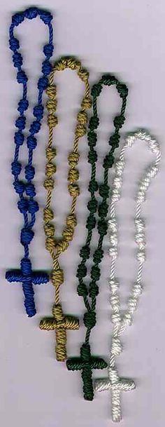 Rosary Workshop: Service - Knotted Cord Rosaries and Chaplets