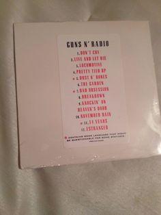 GUNS N' ROSES 'GUNS N RADIO' SEALED US PROMO CD SEALED