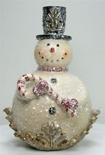 Sparkle Snowman waiting for you at Ravenswood Gifts and Antiques.