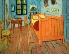 Van gogh. Vincent's Bedroom.