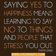 #SayYesToHappiness