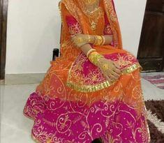 Rajasthani Dress, Rajputi Dress, Bedroom Closet Design, Indian Fashion Dresses, Hand Jewelry, Sari, Bride, Clothes, Saree