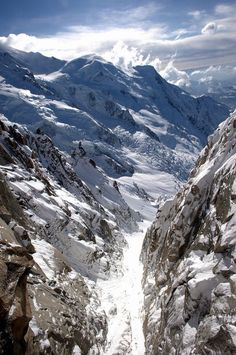 Gorgeous sight of Chamonix, France.