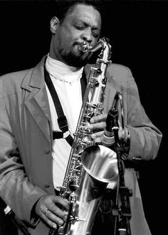 Chico Freeman (Jazz-Fotos von Gerd Jordan)