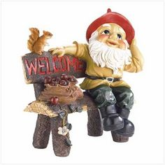 $44.95 - A witty and winsome way to welcome visitors to your home with a darling dose of fairy-tale charm!