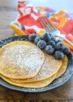 Cream Cheese Pancakes are more crepe than traditional fluffy pancake and we love them! Cream Cheese Pancakes are more crepe than traditional fluffy pancake and we love them! Breakfast Platter, Breakfast Dessert, Low Carb Breakfast, Breakfast Pizza, My Dessert, Cream Cheese Pancakes, Cream Cheese Recipes, Low Carb Pancakes, Pancakes And Waffles